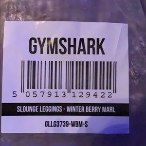 Gymshark Slounge leggings. Winterberry size small